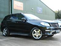 2014 MERCEDES M-CLASS ML250 BLUETEC AMG SPORT ESTATE DIESEL