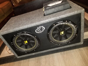 Subwoofer and amp for sale