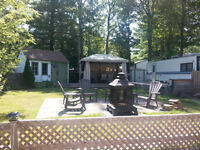 Roulotte 30' Camping Lac Des Pins