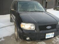 2005 Ford Escape SUV, Crossover   LIMITED EDITION