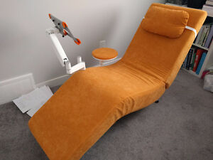Style Chair brand new with tablet holder