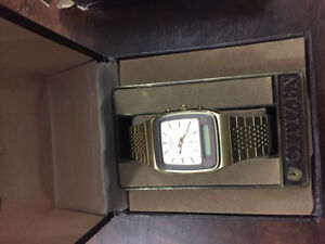 1982 citizen watch new in box never been worn