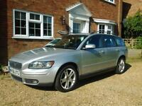 2006 VOLVO V50 DIESEL ESTATE - LEATHER SEATS - AIR CON - ALLOY WHEELS - IN VGC