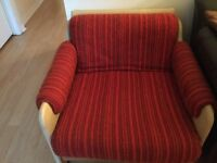 Free red chair