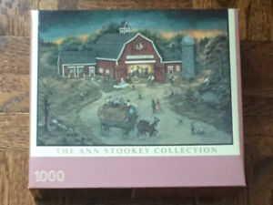 Puzzle The Ann Stookey collection,neuf,1000 pièces