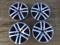 Genuine VW Atlanta alloy wheels for Golf Passat Jetta Eos