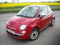 FIAT 500 1.2 LOUNGE *FULL DEALER SERVICE HISTORY* NEW CAM BELT KIT *AIR CON*