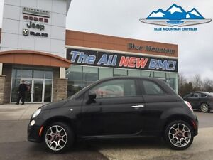 2015 Fiat 500 Sport  CARPROOF, CERTIFIED/ETESTED, FUEL SAVER