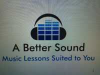 A Better Sound- Music Lessons