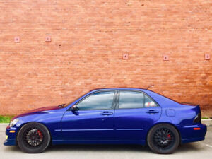 Lexus is 300 2002 ibp 2jz blue 5 speed tiptronic 4 door supra