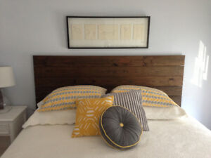 Beautiful Rustic Headboards Available in Double/Queen/King