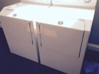 Maytag Naptune front load washer and Electric Dryer