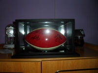 Autographed Collector Football