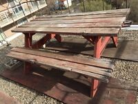 Picnic table for only $20.