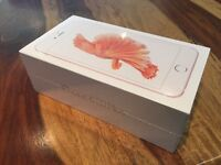 Brandnew sealed rose gold iPhone 6s Plus on EE