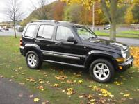 Jeep Cherokee 2.8 CRD 4x4 auto Limited Full Leather Tow Bar