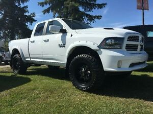 2016 RAM 1500 SPORT QUAD CAB LIFTED, RIM & TIRES!!  16R18709AB