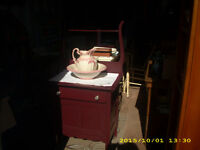 antique wash stand beautiful