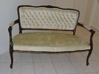 French Provincial Settee/Sofa