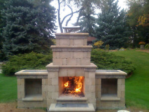 Outdoor fireplace buy garden patio items for your home for Modular outdoor fireplace