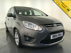 2014 FORD C-MAX ZETEC TURBO PARKING SENSORS 1 OWNER SERVICE HISTORY FINANCE PX