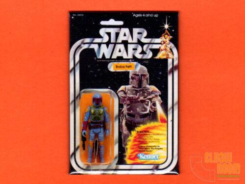 """Kenner Star Wars Boba Fett 2x3"""" fridge/locker magnet package art"""