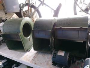 Trois blowers 115V fournaise ventilateur ventilation