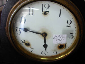 1920s Sessions 8-Day Mantle Clock Cambridge Kitchener Area image 2