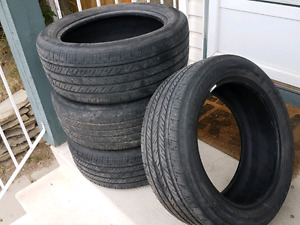 P225/R50R17 - 4 Used Summer Tires for Sale