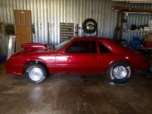 1982 Mustang Drag Car