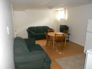 Basement studio available immediately in Aylmer (Gatineau)