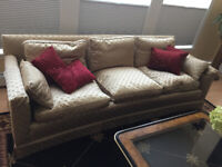 Classic Couch.. fine upholstery