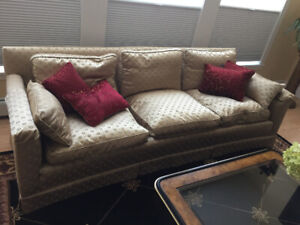 Classic Couch.. fine upholstery (LOWER PRICE)