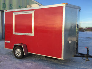 2014 Haulmark Transport Concession Trailer