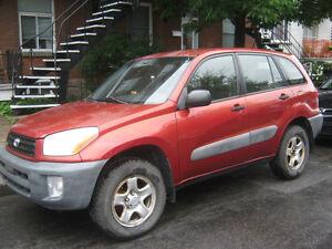 2001 Toyota RAV4 SUV, Crossover