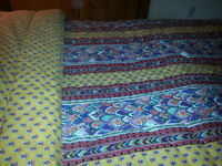 PROVENCE Pattern queen size quilt