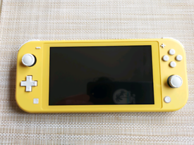 Nintendo Switch Lite with Super Mario 3d all-stars game
