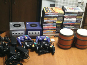 Nintendo Gamecube video game console, video games
