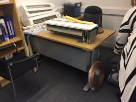 Office Desks with side drawers