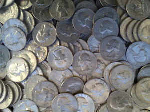 US Silver Quarter Dollar Coins 90% Silver - Just CAD $4.99 each!
