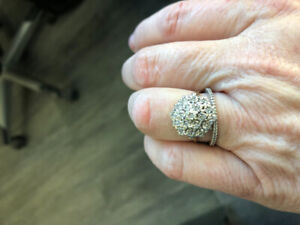 Gold and Diamond Ring with appraisal