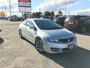 2009 Honda Civic EX-L Coupe, One Owner, 3 Years Warranty