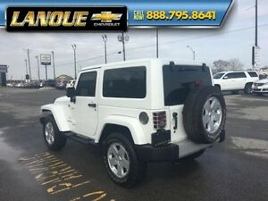 2012 Jeep Wrangler Sahara   4X4-ONE OWNER-LOW KMS-LEATHER-HARD +