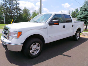 2013 FORD F-150 XLT, 4X4, SUPERCREW, ONE OWNER