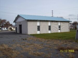 Commercial-Industrial Building With Parking/Storage Yard