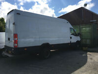Iveco Daily 65c17 lwb van extra high roof 2010 60 135000 miles