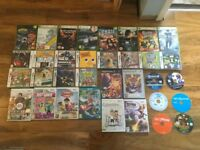 Large bundle of various games for Xbox PlayStation and Nintendo