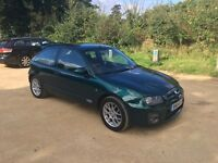MG ZR 1.8 120 BHP Limited Edition
