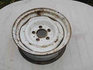 "GMC Products RWD,OEM 15"" x 6"" inch,Steel Rim/wheel 5 stud 5"" B.C"