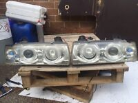 E36 angel eyes and 6000k hids
